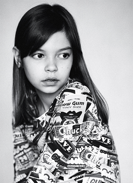 schwarz teen girl models gesicht